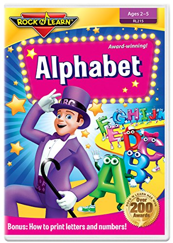 Alphabet DVD by Rock 'N Learn (Sing Christmas Special Songs Along)