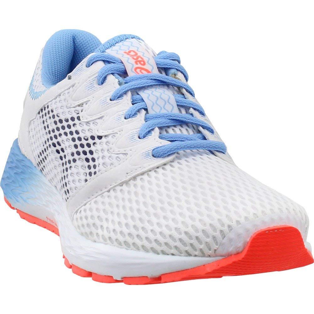 White Black ASICS Women's Roadhawk Ff 2 Running shoes 1012A123