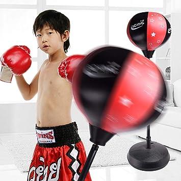 favourall Cajas Balón de Entrenamiento, Reflex Fight Ball, - pera ...
