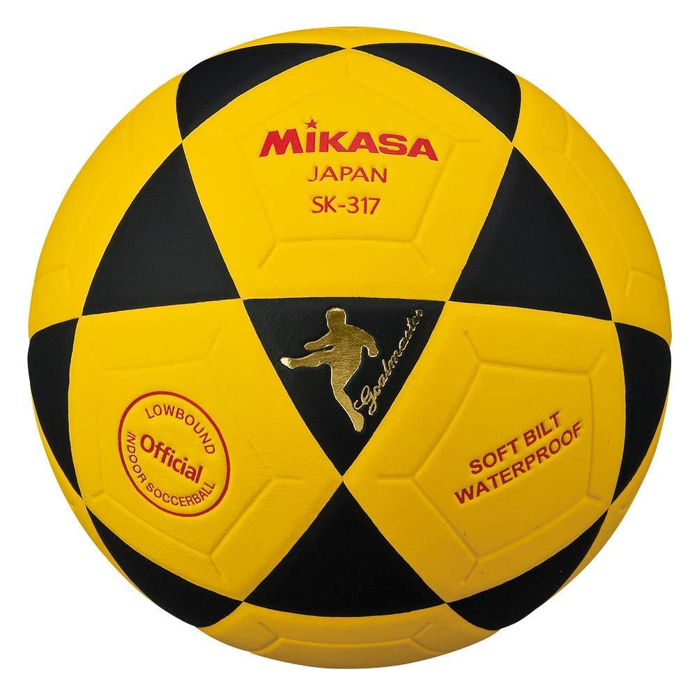 Mikasa SK317-YBK - Balón de fútbol para Interiores: Amazon.es ...