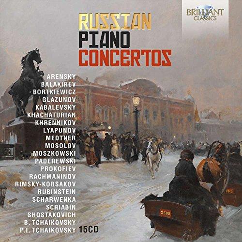 - Russian Piano Concertos