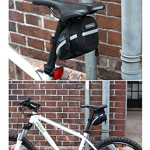 Bike Sitz Sattel Keil Tasche, yicol Mountain Road MTB Fahrrad-Pack Aufbewahrung Paar Satteltasche für Reparatur Werkzeug, Handy, Schlüssel und andere Dinge