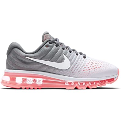 wholesale dealer 724c1 f11c0 Nike Women s WMNS Air Max 2017 Pure Platinum White Running Shoes 7 UK India