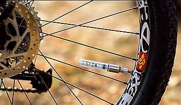 Luz de bicicleta dentro de la batería para bicicleta de montaña, carretera, bicicleta, luces LED, luz de rueda de neumático: Amazon.es: Deportes y aire ...
