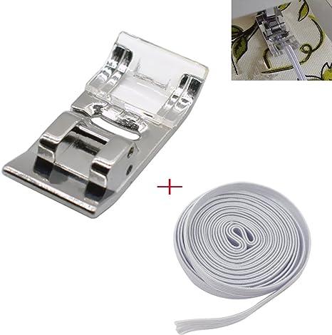 Zig Zag Prensatelas para máquina de coser con 2 m trenzado ...