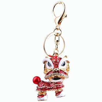axmerdal Animal llavero para danza tradicional chino León ...