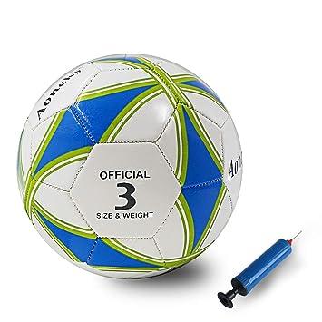 Aoneky Balón de Fútbol para Niños - Talla 5 Diámetro 21,5 cm ...