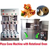 Commercial Pizza Cone Forming Molding Maker Making Machine Cone Pizza Production Line with Rotational Oven