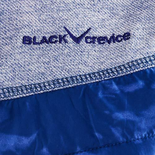 Femme Bleu Pour À Sans Crevice Taille Veste Manches Black 38 Capuche UwPxRF4nq