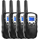 トランシーバー 無線機 子供 無線通信機 LEDライト通信範囲最大3km T3 携帯型 簡単操作 低放射 4台セット