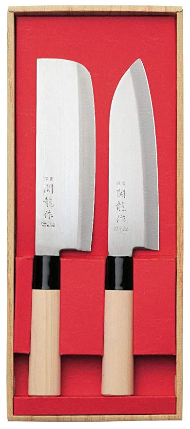 Compra Juego de 2 Cuchillos Japoneses SekiRyu Santoku y ...