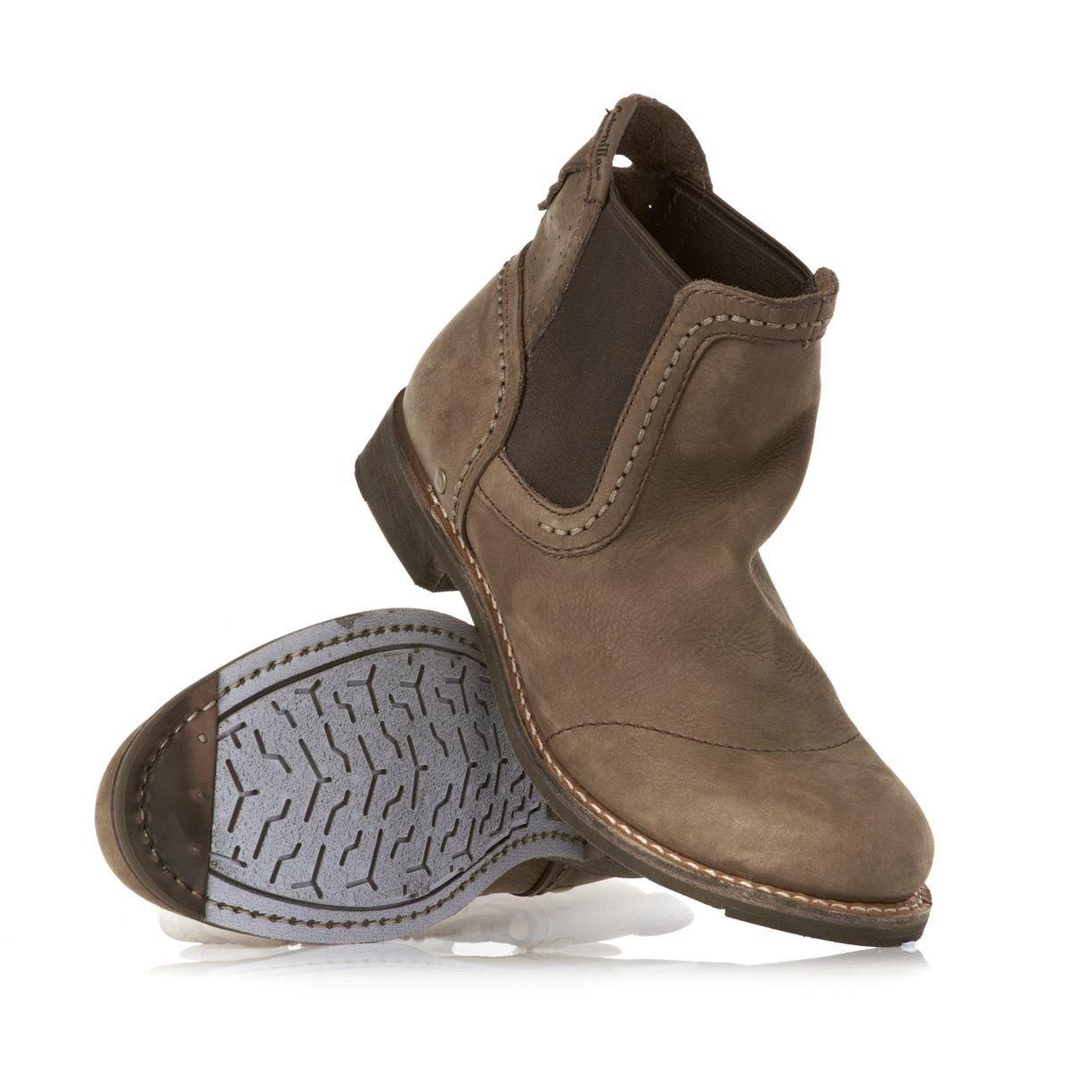 4445dad9e5e New Mens CAT Caterpillar Raw Moe Desert Dealer Chelsea Boots Size 11 ...