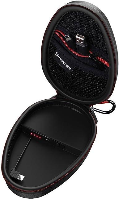 Smatree Funda Dura de Carga con Cargador Portátil 1000mAh para Powerbeats 2, Powerbeats 3 Auriculares Inalámbricos [No para BeatsX x3