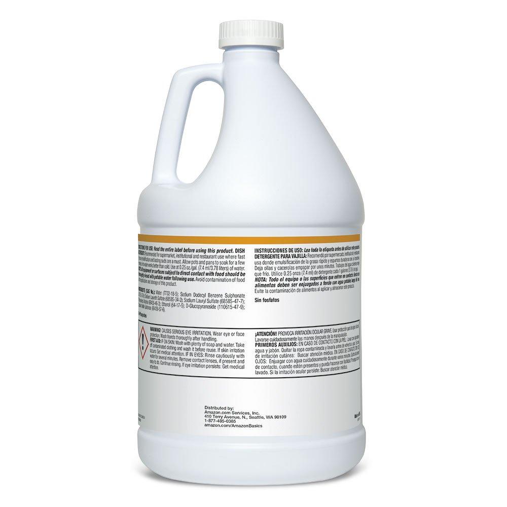 Amazon.com: AmazonBasics - Detergente profesional para lavar ...