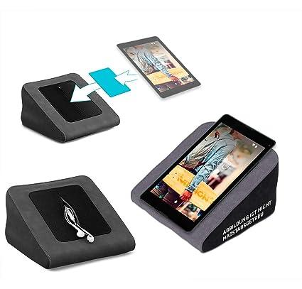 Tablet Kissen für das Medion Lifetab P8524 - ideale iPad Halterung, Tablet Halter, eBook-Reader Halter für Bett & Couch