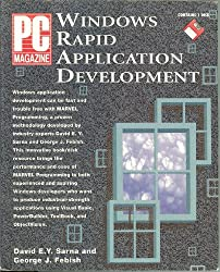 PC Magazine Windows Rapid Application Development/Book and Disk