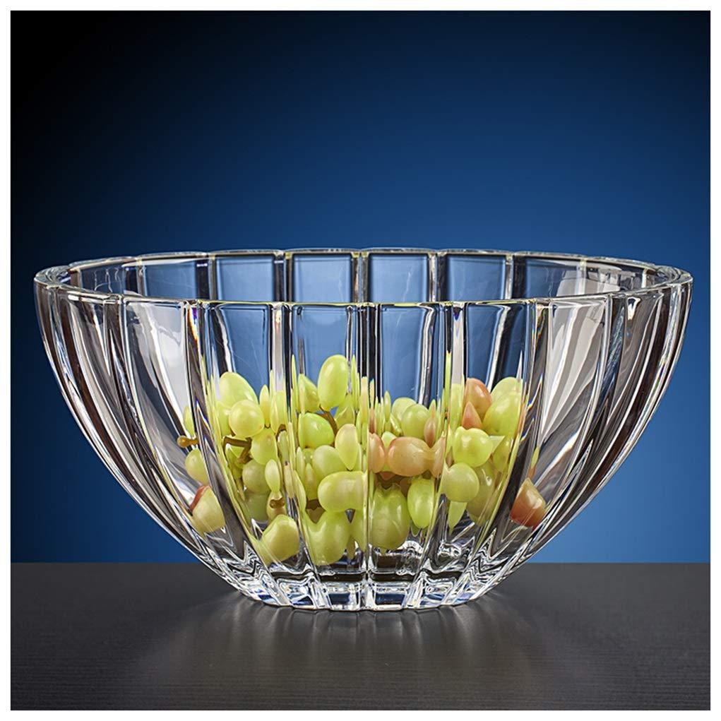 Y.H.Valuable フルーツバスケット フルーツプレート鉛フリーガラスフルーツプレートホーム乾燥フルーツプレートフルーツプレートスナックプレート   B07QTXNM76