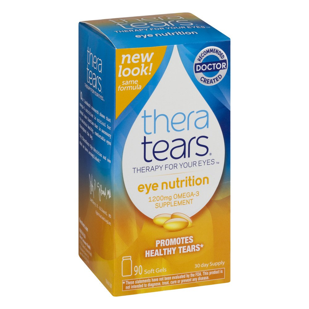 TheraTears Eye Nutrition Omega 3 Supplement (.6 Pack ( 560 Capsules ))