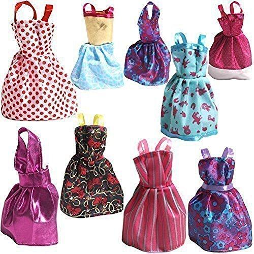 Rainbow Handmade Dresses Barbie Doll product image