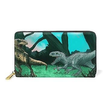 COOSUN Los Dinosaurios Antiguos de Cuero Genuino de Gran ...