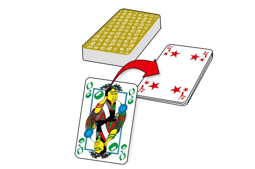 edici/ón de bolsillo Juego de cartas Tichu ABACUSSPIELE 08092