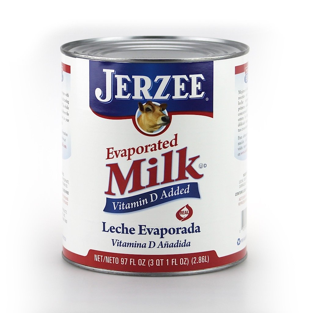 Amazon.com : Jerzee, Evaporated Milk, 97.0 oz. (6 count) : Grocery & Gourmet Food