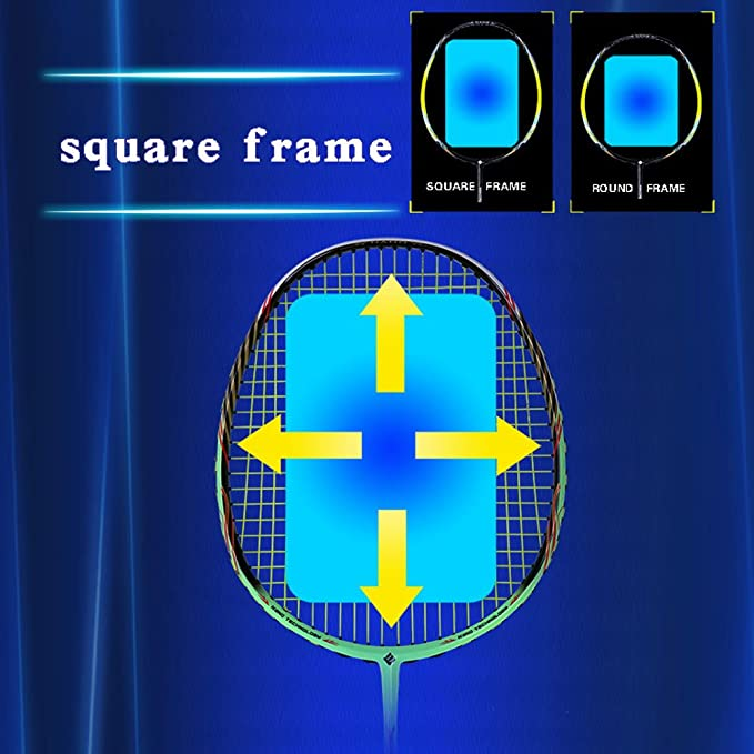 Amazon.com : MingYuHui Badminton Racket- Professional ...