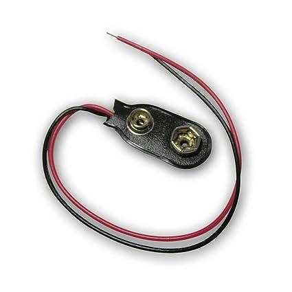 Pp3 Batterieclip 15cm Kabel Verkauft 10 Stück