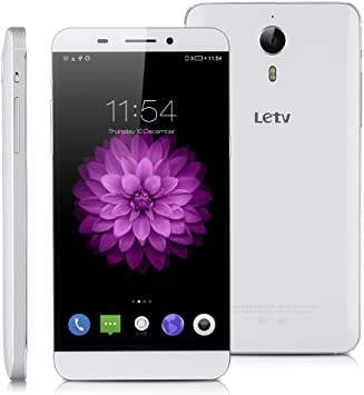 Letv X600 Lte 4G - Smartphone Libre Android 5.5 (Ips Hd 1920x1080P, 32Gb Rom, Dual Sim, 3Gb Ram, Multi-Idioma, Wifi Gps Bluetooth GSM), Blanco: Amazon.es: Electrónica