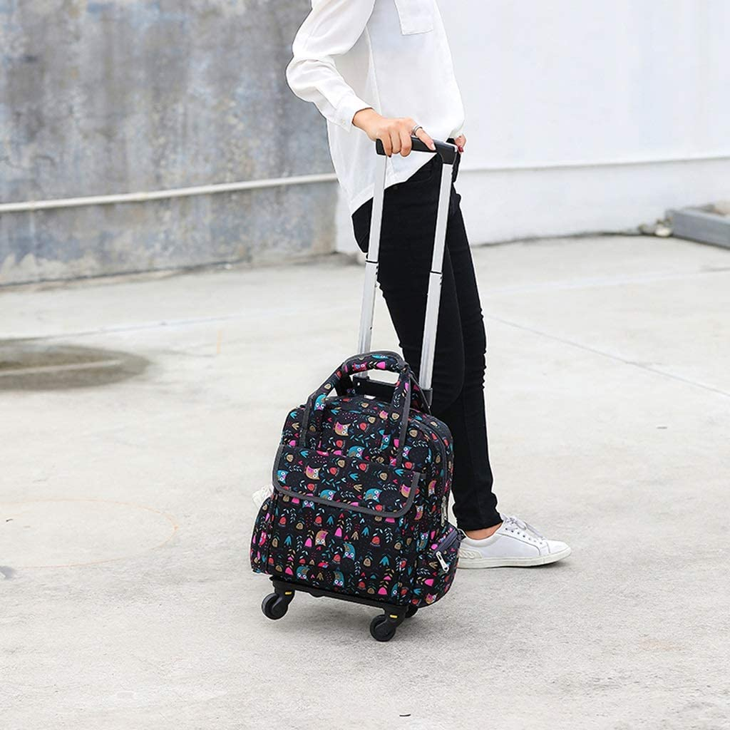 Four-Wheel Crystal Wheel Can Climb Stairs Artist Combination Portable Folding Art Cart Multi-Function Waterproof Painting Board Color : A Bag Trolley Painting Tool Cart