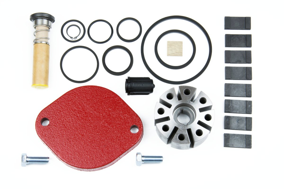 Fill-Rite 700KTF2659 Rebuild Kit for Series 700B Pumps Version Only, Carbon Vane Tuthill