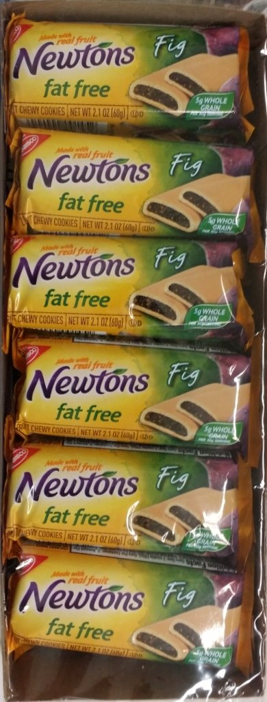Fat Free Nabisco Fig Newton's 12-2.1 Oz Packets (Pack of 2)