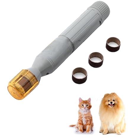ueetek Cortauñas perro eléctrico uñas lima eléctrica para perros gatos