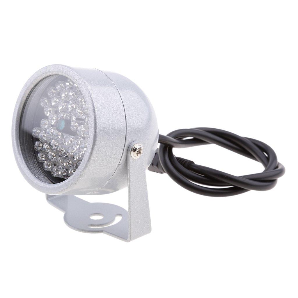 MonkeyJack 48pcs Led Night Vision IR Infrared Illuminator Outdoor Lamp Light