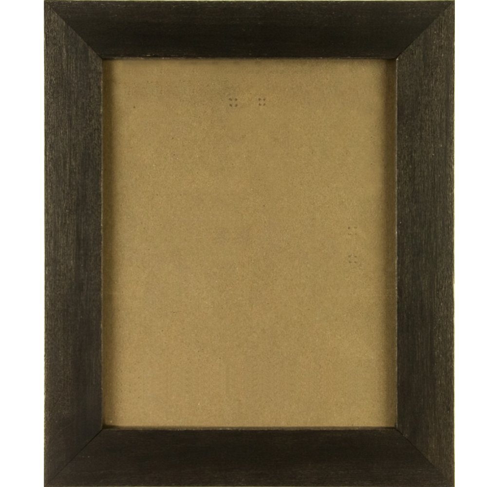 Craig Frames 1.5DRIFTWOODBK 16x20 Picture/Poster Frame, Wood Grain Finish, 1-1/2-Inch Wide, Distressed Black