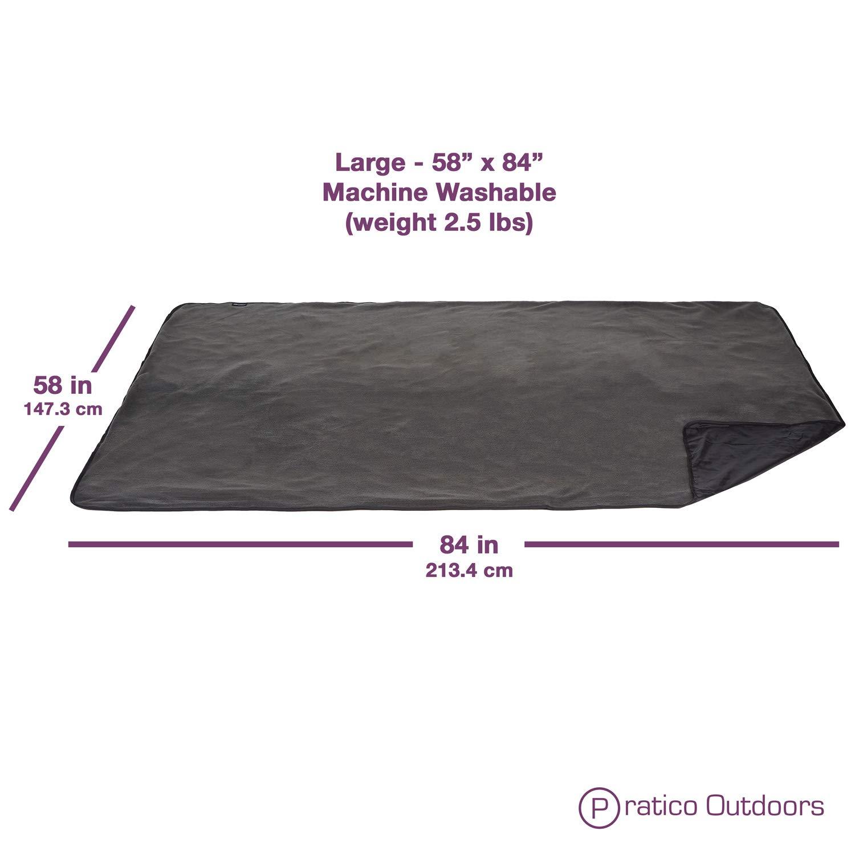 Pratico All-Purpose Outdoor Blanket, Stadium Blanket, Picnic Blanket