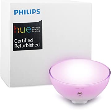 Philips 7146060PH Hue Go Portable Dimmable LED Smart Light Table Lamp (Compatible with Amazon Alexa Apple HomeKit, and Google Assistant) (Renewed)