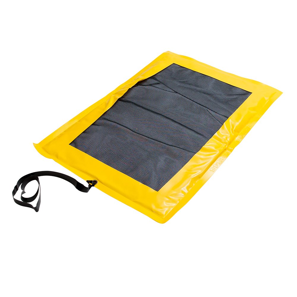 AIRE Industrial Drip Catcher Pad - 36''x42'', with absorbent pad, bright yellow
