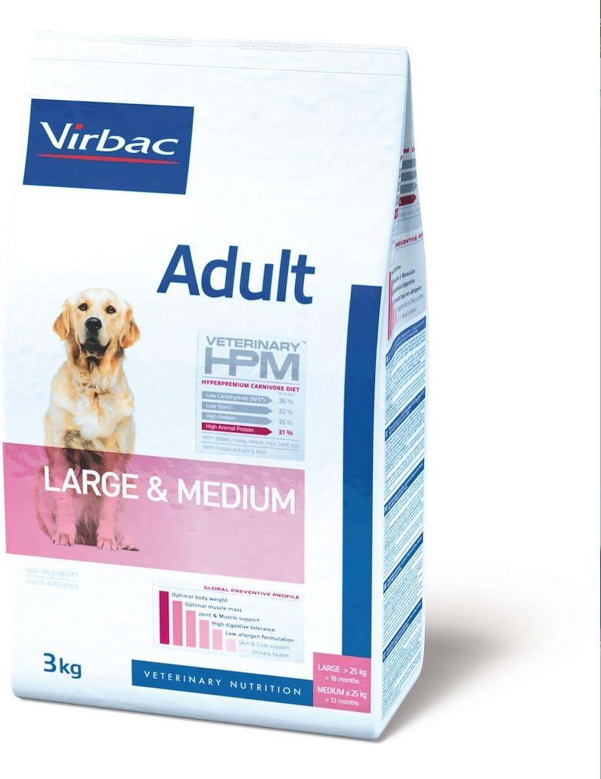 Veterinary Hpm Virbac Hpm Dog Adult Large & Medium 7Kg Virbac 00258 7000 g