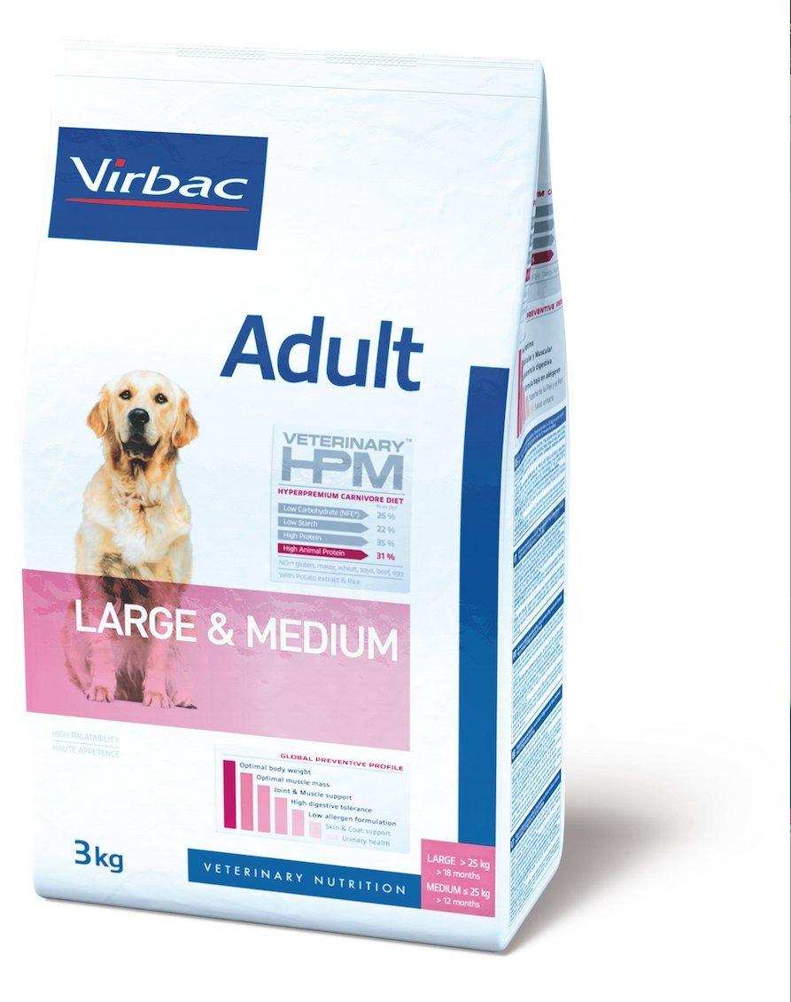 Virbac Veterinary HPM Adult Large & Medium Dog 16 kg