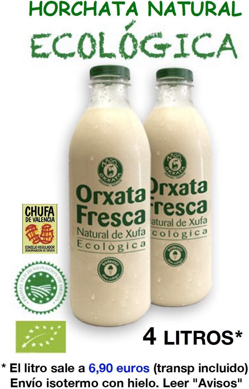 Pack celebraciones: 4 litros de Horchata Natural Ecológica y 26 ...
