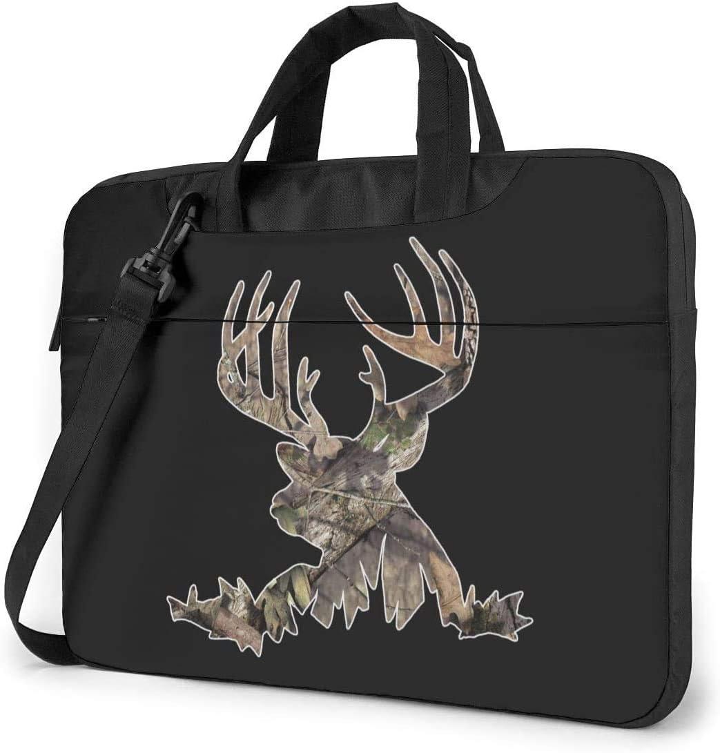 Deer Shockproof Laptop Shoulder Messenger Bag Laptop Case Sleeve Laptop Briefcase Business Handbag