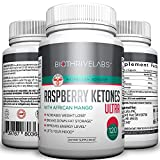 Raspberry Ketones, Pure Weight Loss Formula! With Green Tea and African Mango – No Additives – 100% Satisfaction Guarantee