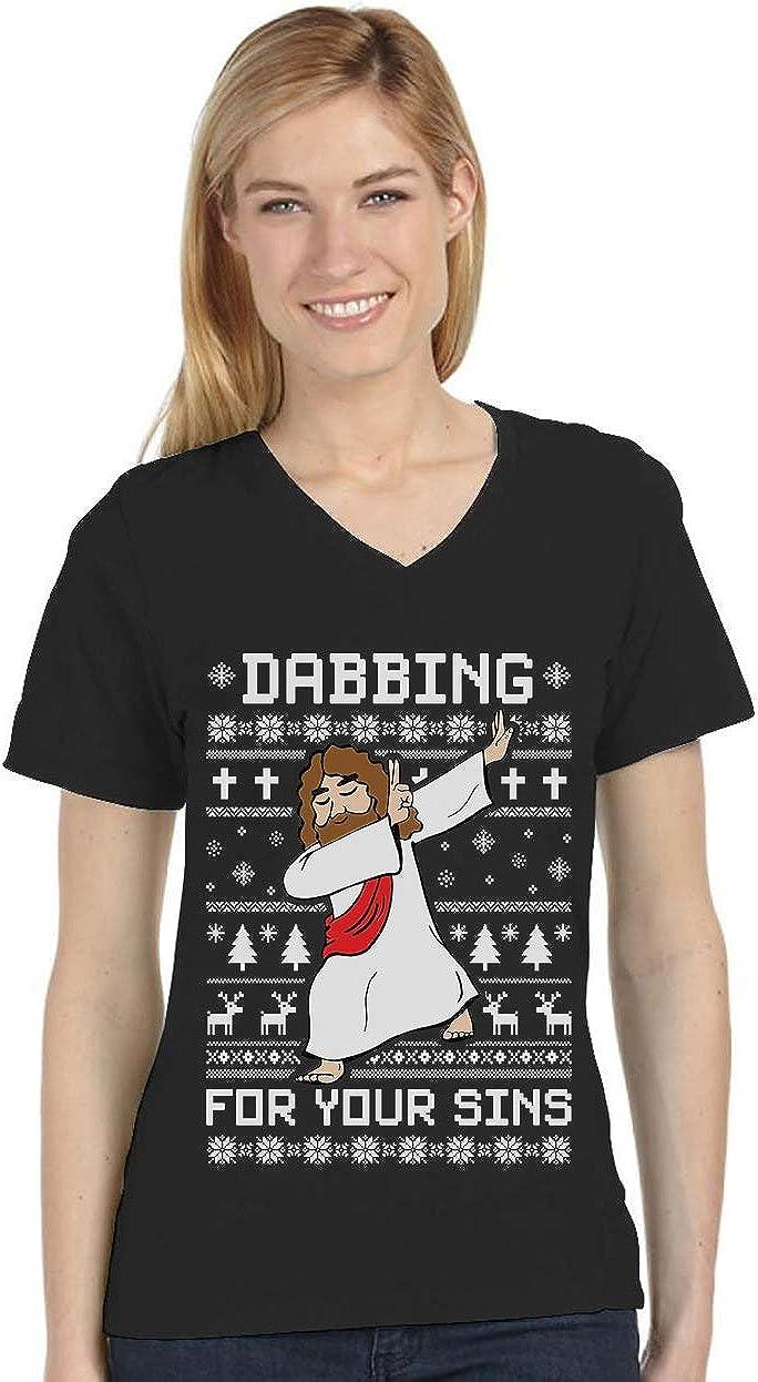 : Dabbing Jesus Ugly Christmas Sweater Funny Dab