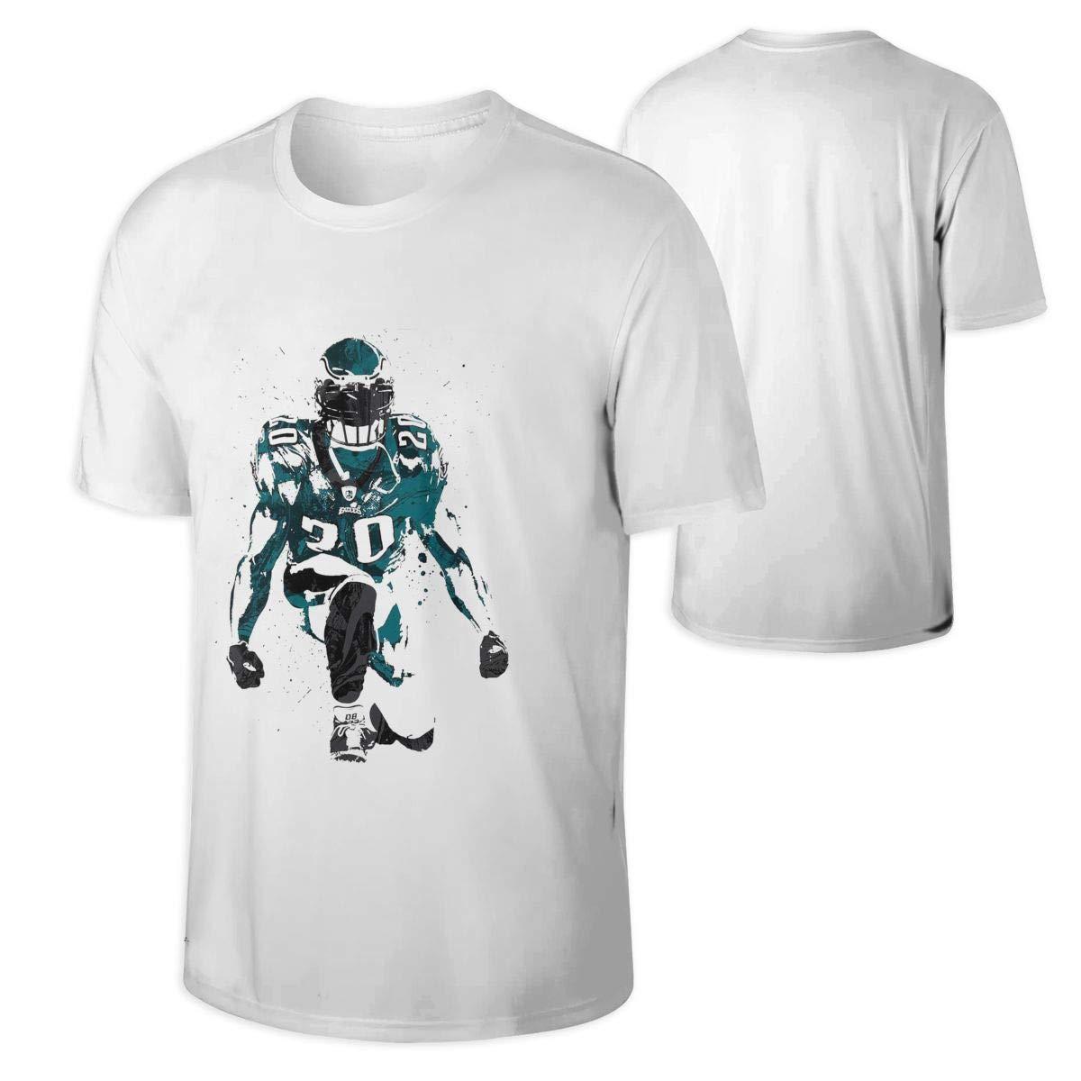 reputable site ce014 3d22c Amazon.com: Brian Dawkins Hall Of Fame Football Man's Tee ...