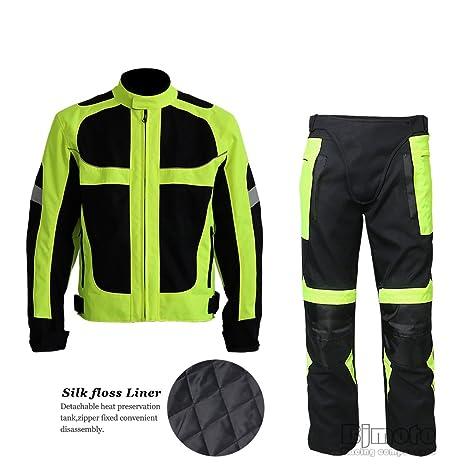 Amazon.com: BJ Global Invierno Motocicleta Racing trajes ...