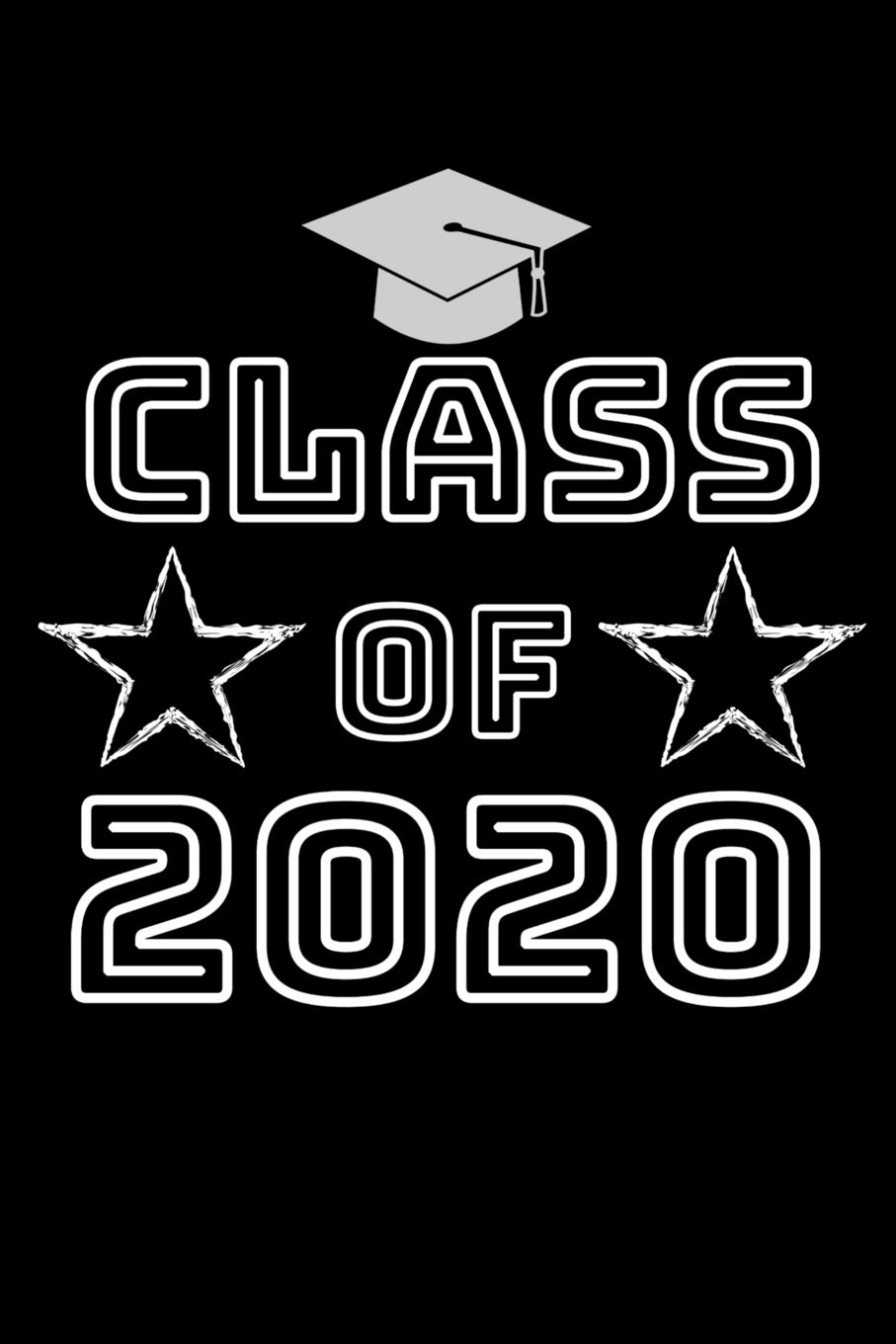 Graduation Background 2020.Class Of 2020 Weekly Planner 6 X 9 Notebook 120 Lined