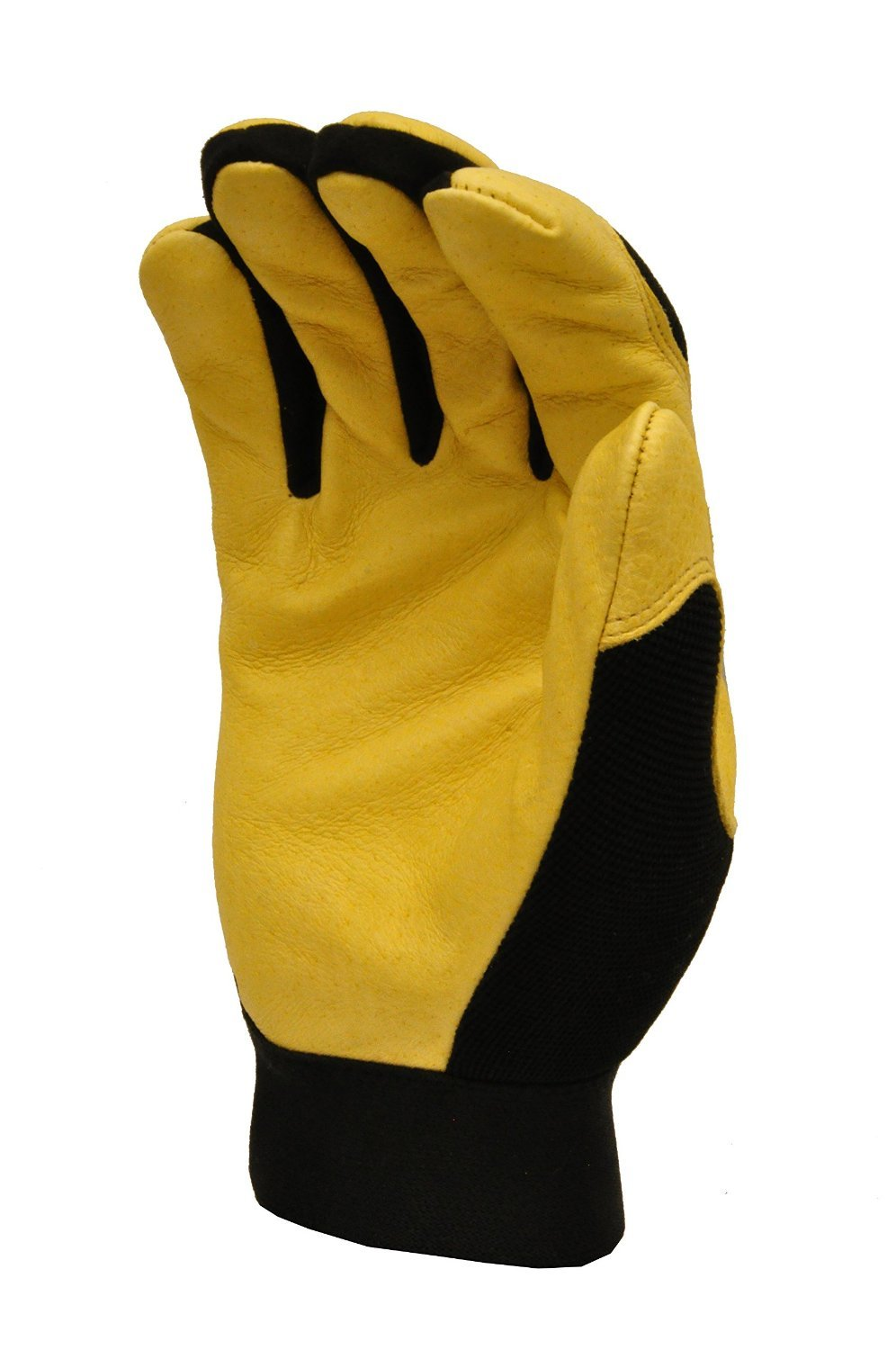 GF Gloves 1091XL-12 Dark Owl High Visibility Reflective Performance Gloves, X-Large, Yellow (Pack of 12)