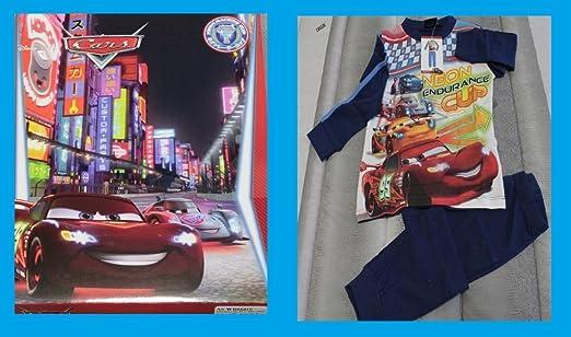 Russo Tessuti Pijama Chándal Niño Infantil Disney Cars Rayo ...