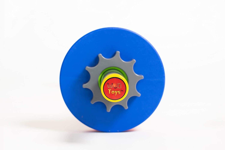 Adjustable Barbell Set for Kids Fitness Safe Durable and Kids Fitness Toys WOD Toys Barbell Mini
